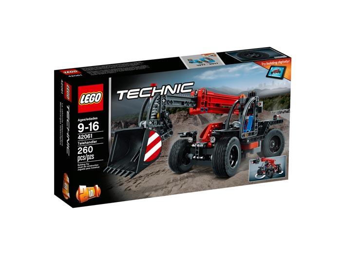 LEGO 42061 Technic Telehandler - Click Image to Close
