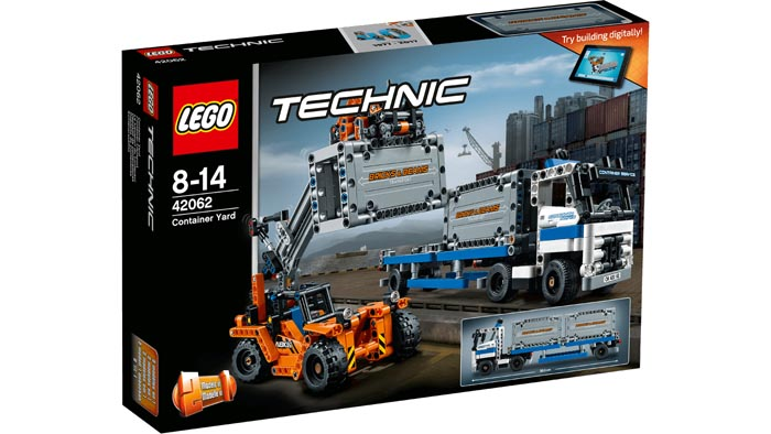 LEGO 42062 Technic Container Yard