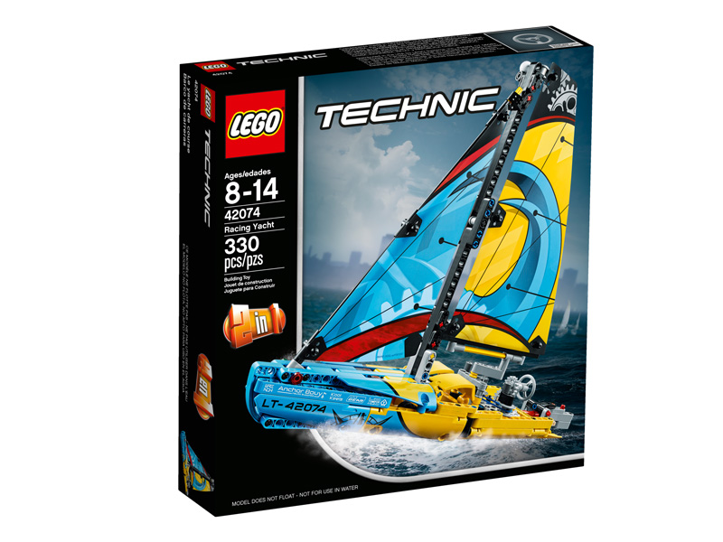 Technic 42074 Racing Yacht
