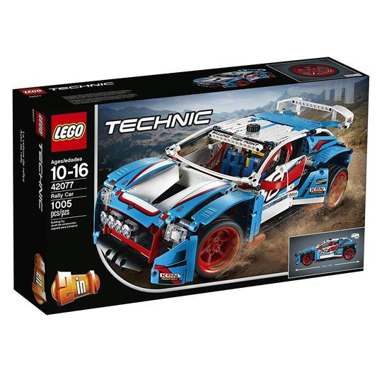 Technic 42077 Rally Car