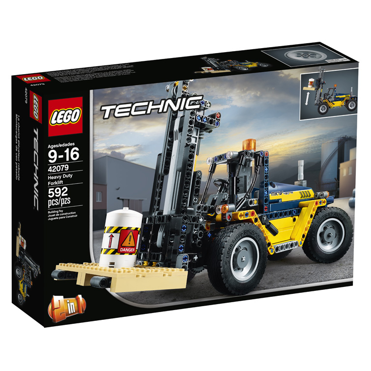 Technic 42079 Heavy Duty Forklift