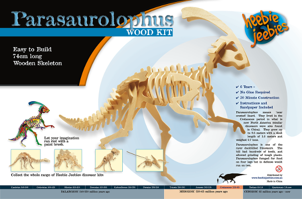 Dino Kit Large Parasaurolophus