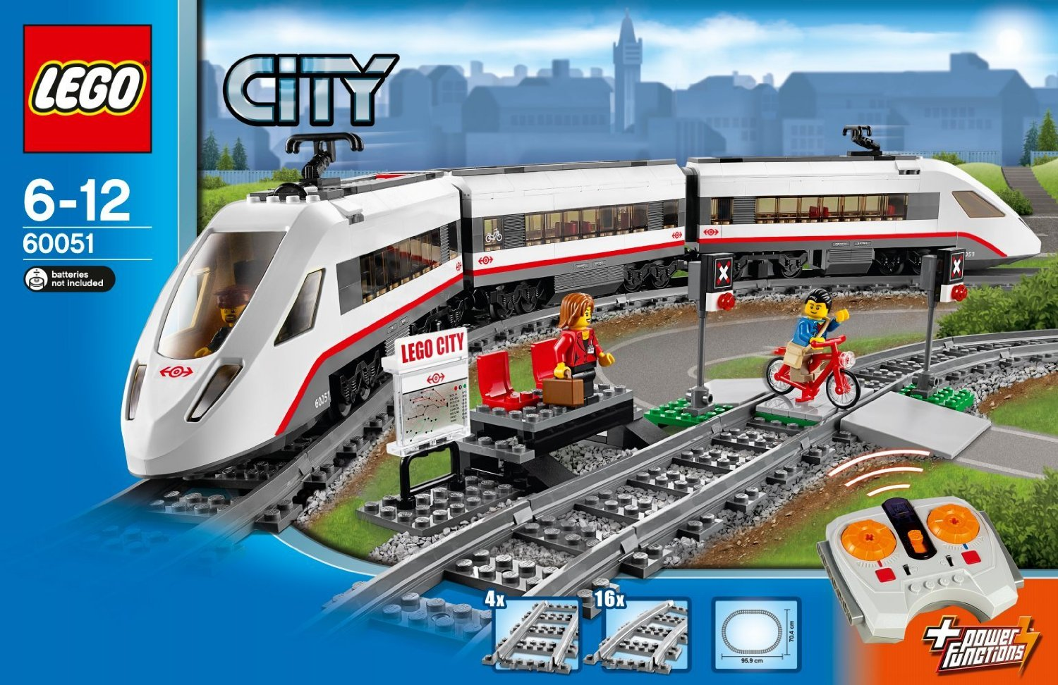 LEGO CITY 60051 High-speed Passenger Train
