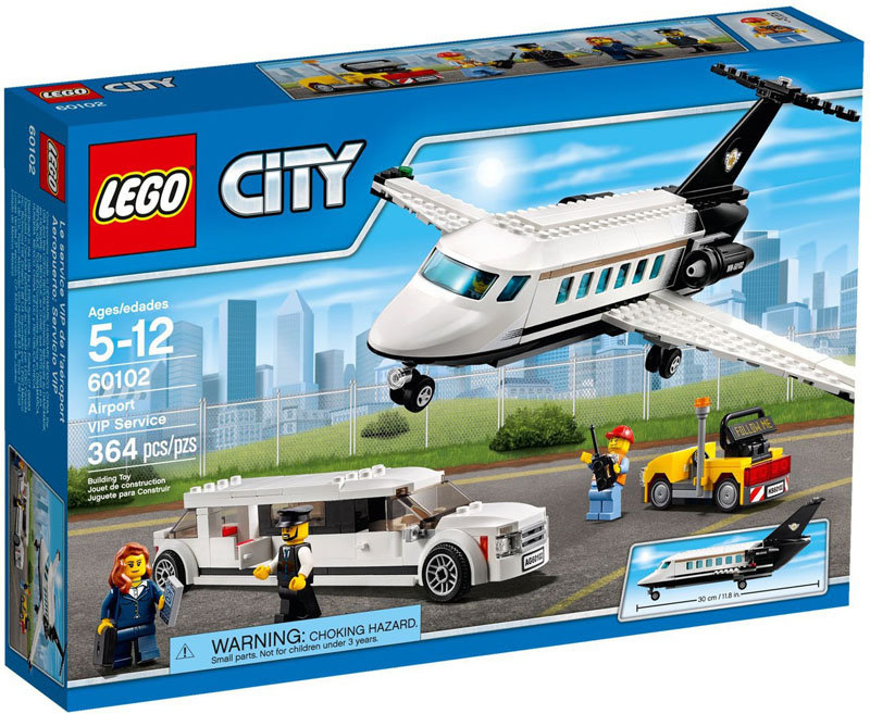 LEGO CITY 60102 Airport VIP Service