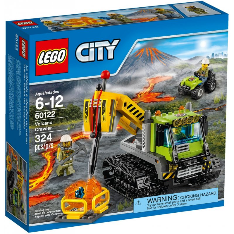LEGO CITY 60122 Volcano Crawler