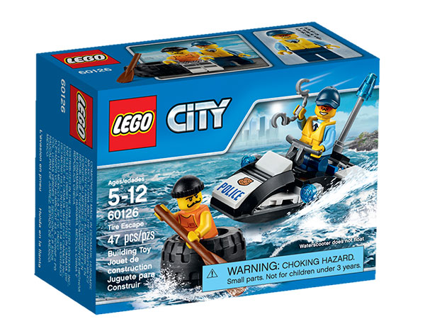 LEGO CITY 60126 Tire Escape