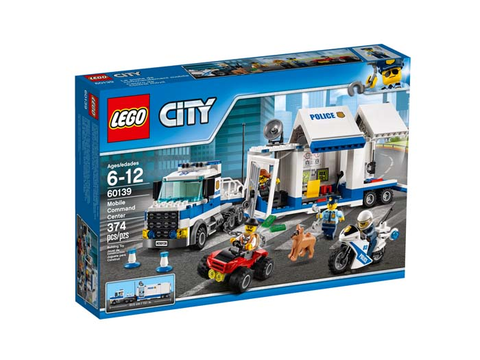 LEGO City 60139 Mobile Command Center