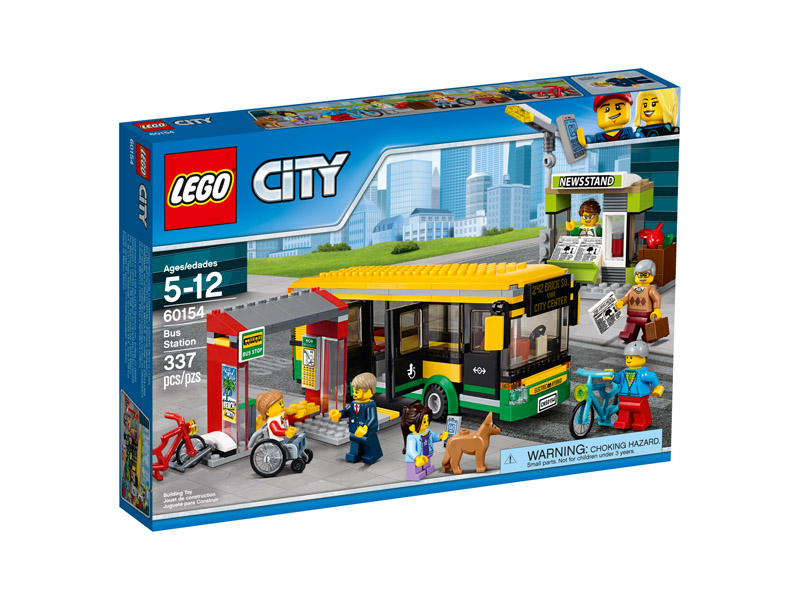 LEGO 60154 CITY Bus Station