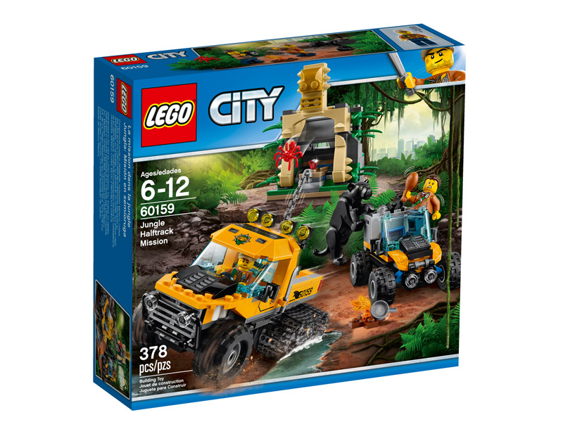 LEGO 60159 CITY Jungle Halftrack Mission