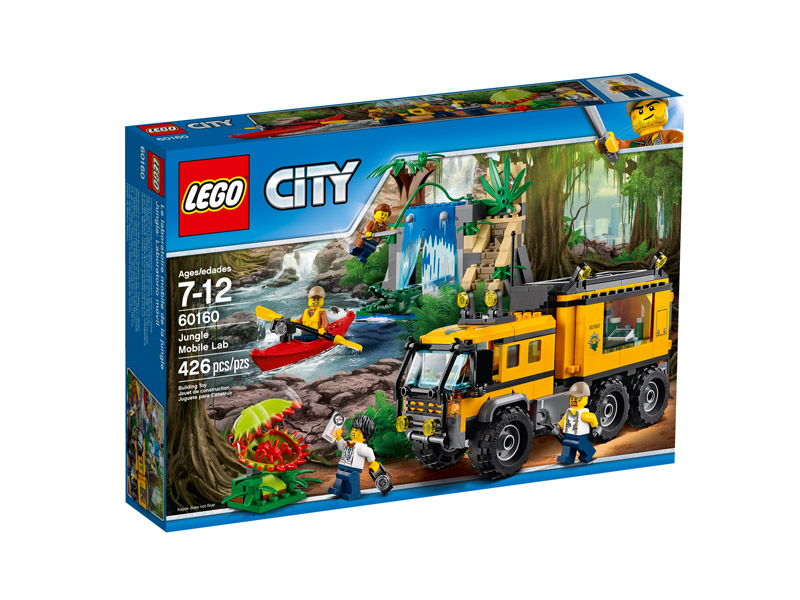 LEGO 60160 CITY Jungle Mobile Lab
