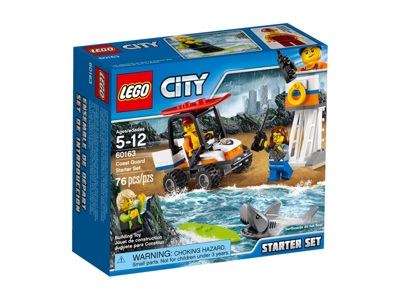LEGO 60163 CITY Coast Guard Starter Set