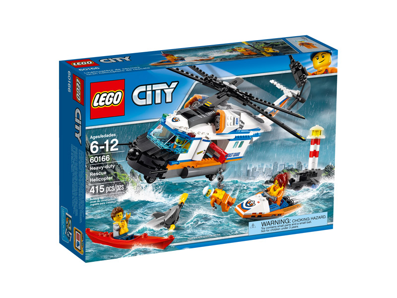 LEGO 60166 CITY Heavy duty Rescue Helicopter