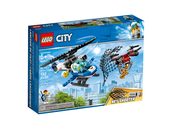 CITY 60207 Sky Police Drone Chase