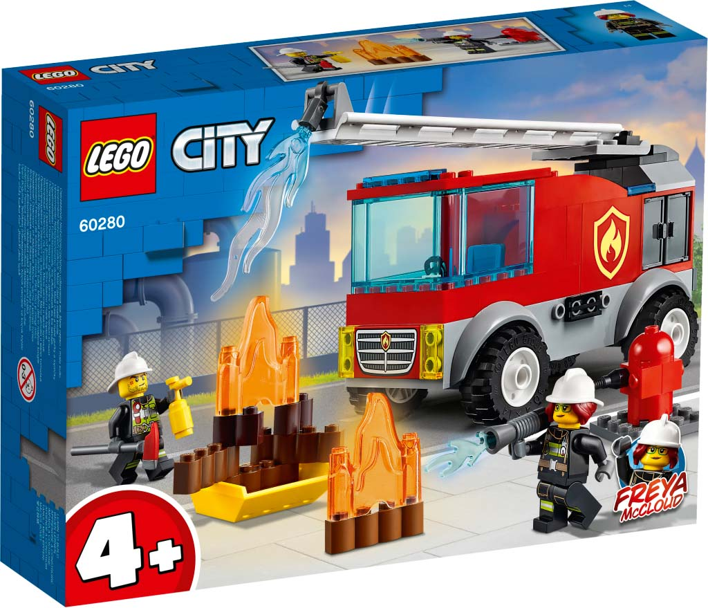 LEGO® CITY 60280 Fire Ladder Truck