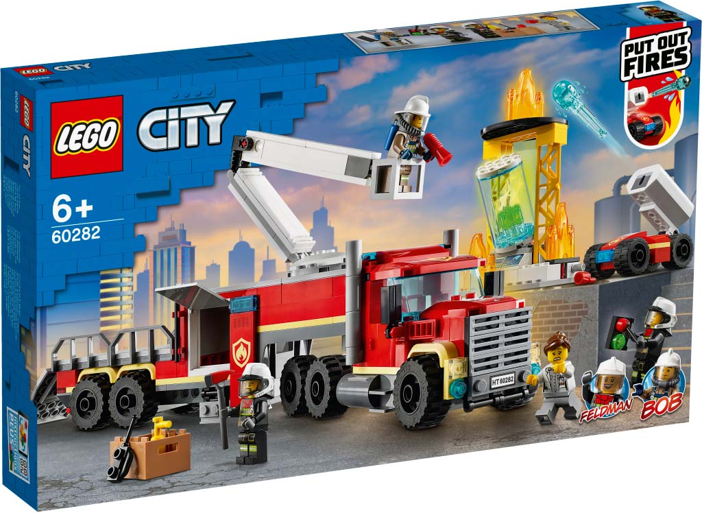 LEGO® CITY 60282 Fire Command Unit