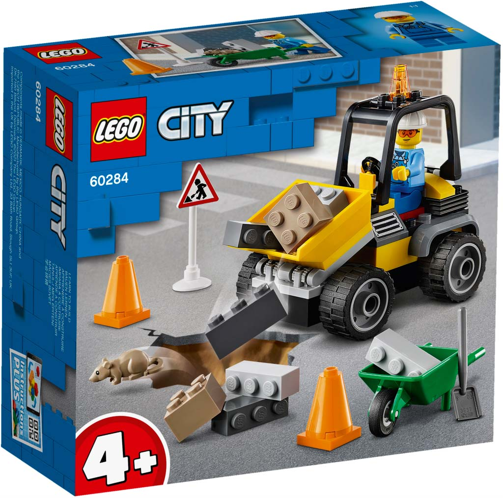 LEGO® CITY 60284 Roadwork Truck