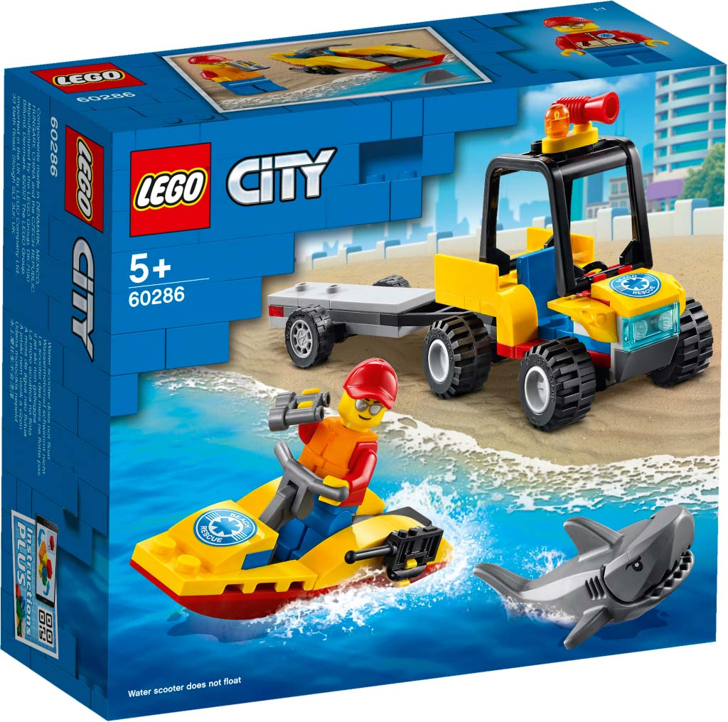 LEGO® CITY 60286 Beach Rescue ATV