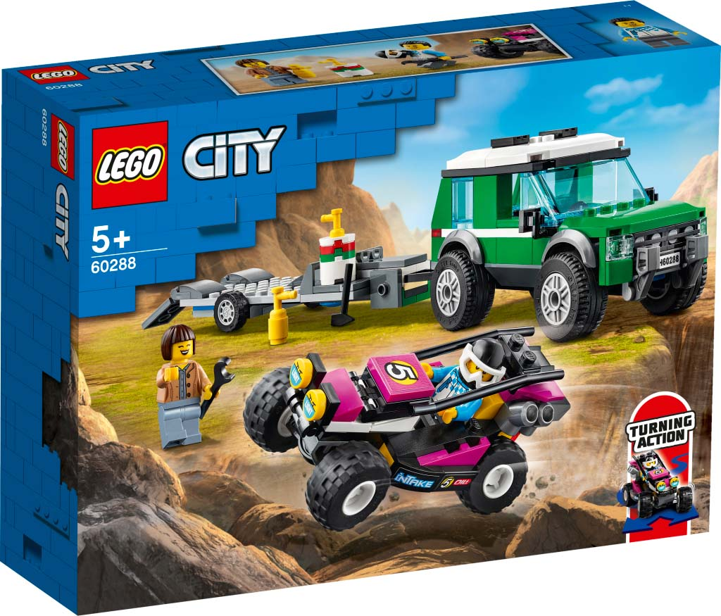 LEGO® CITY 60288 Race Buggy Transporter