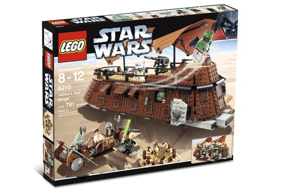 LEGO Star Wars 6210 Jabbas Sail Barge