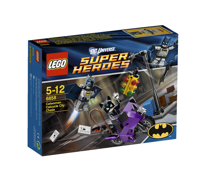 LEGO ® Super Heroes Catwoman City Chase 6858