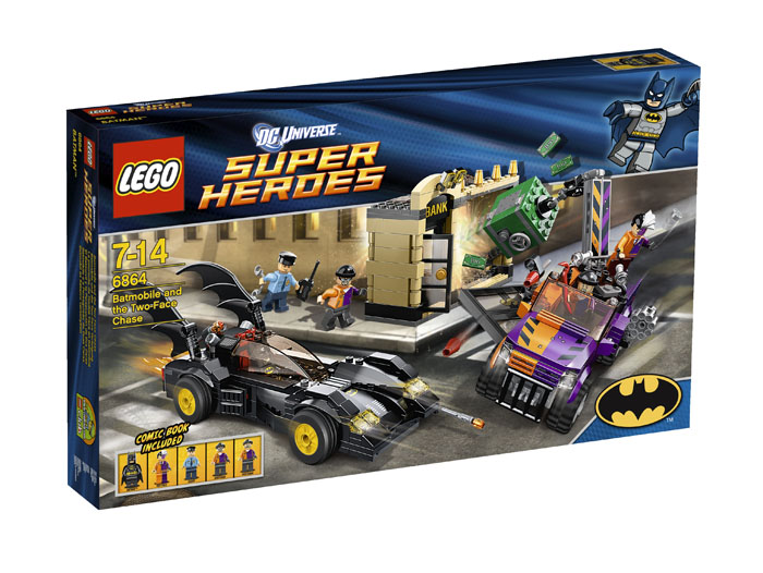 LEGO ® Batmobile and the Two-Face Chase 6864