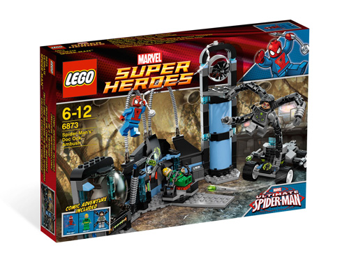 LEGO® Super Heroes Spideman's Doc Ock Ambush 6873