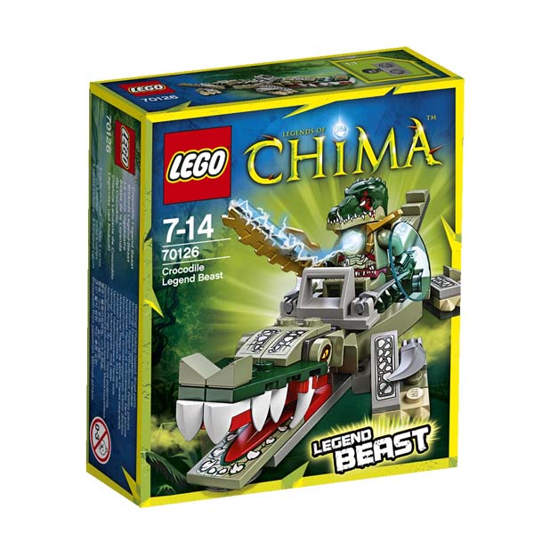 LEGO Chima 70126 Crocodile Legend Beast