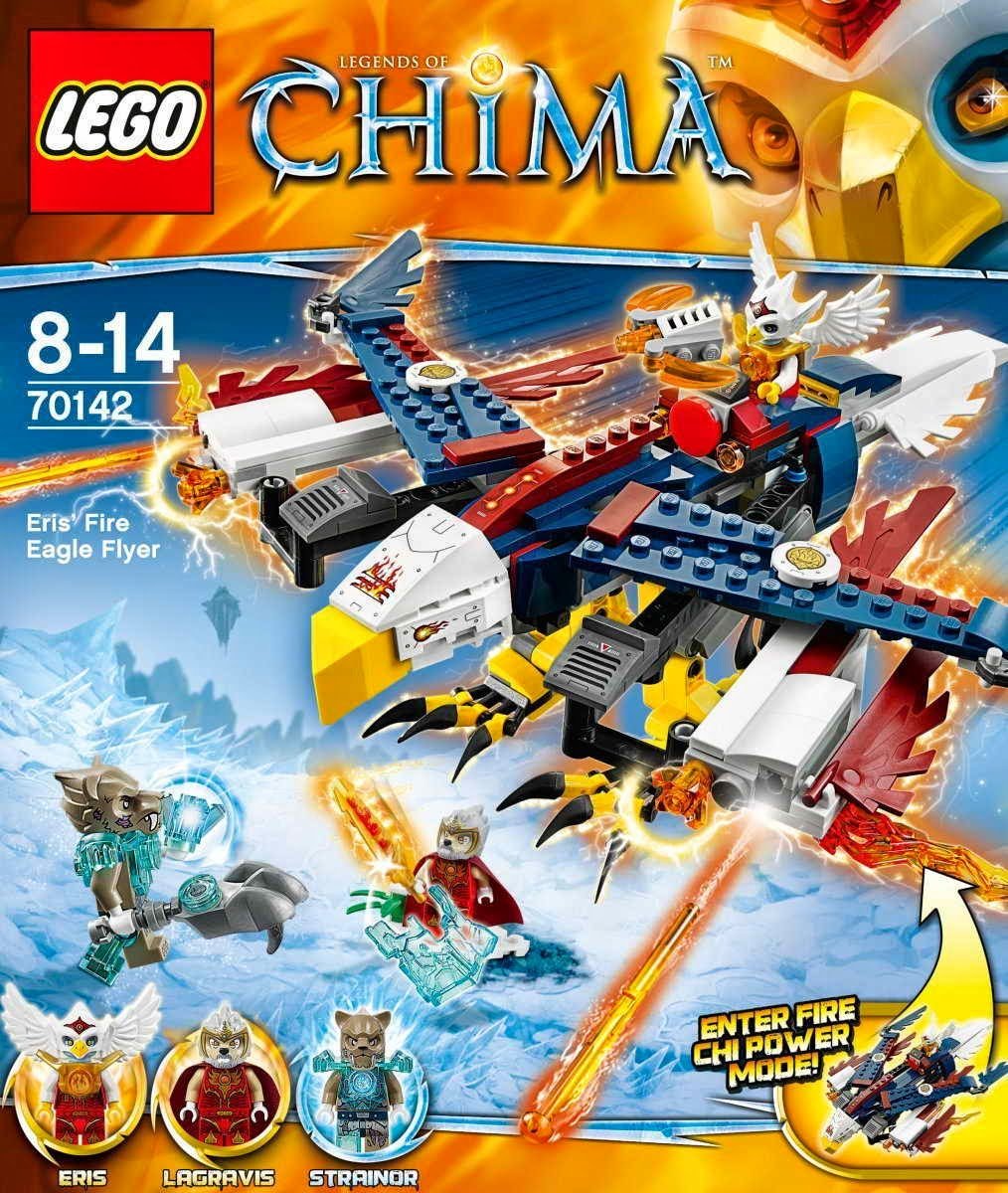 LEGO CHIMA 70142 Eris Fire Eagle Flyer