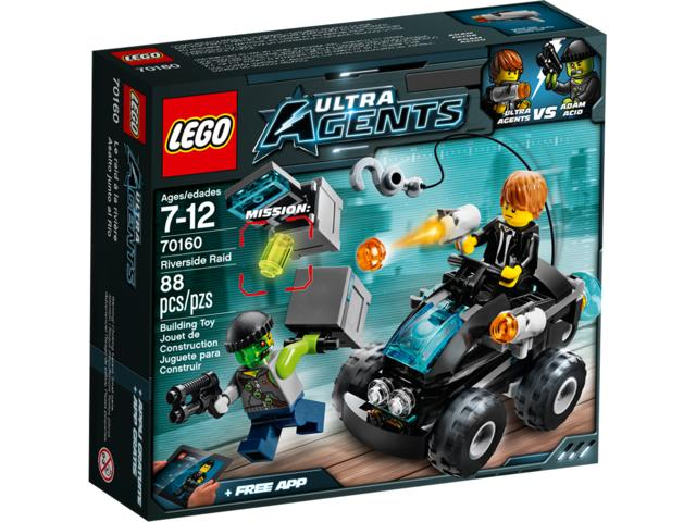 LEGO ULTRA AGENTS 70160 Riverside Raid