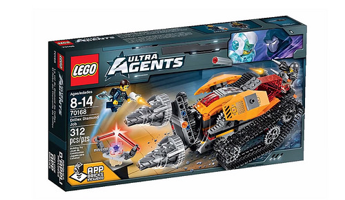 Ultra Agents 70168 Drillex Diamond Job