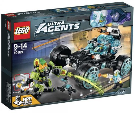 Ultra Agents 70169 Agent Stealth Patrol