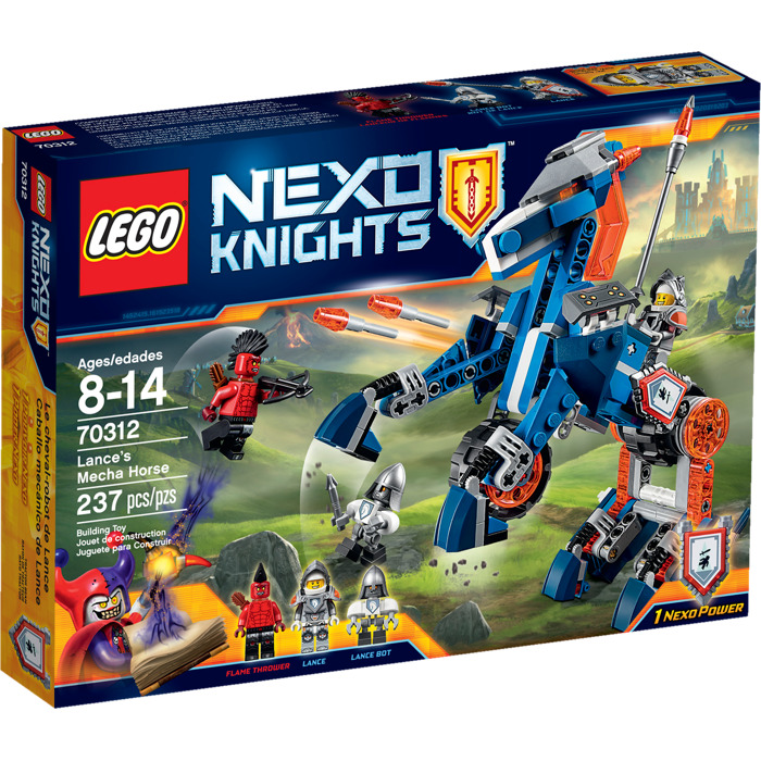 LEGO NEXO KNIGHTS 70312 Lances Mecha Horse