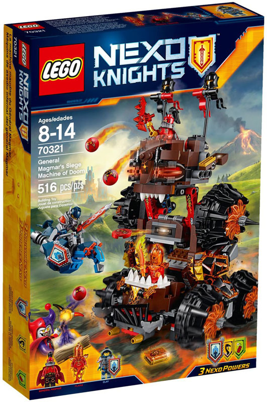 LEGO NEXO KNIGHTS 70321 General Magmars Siege Machine of Doom