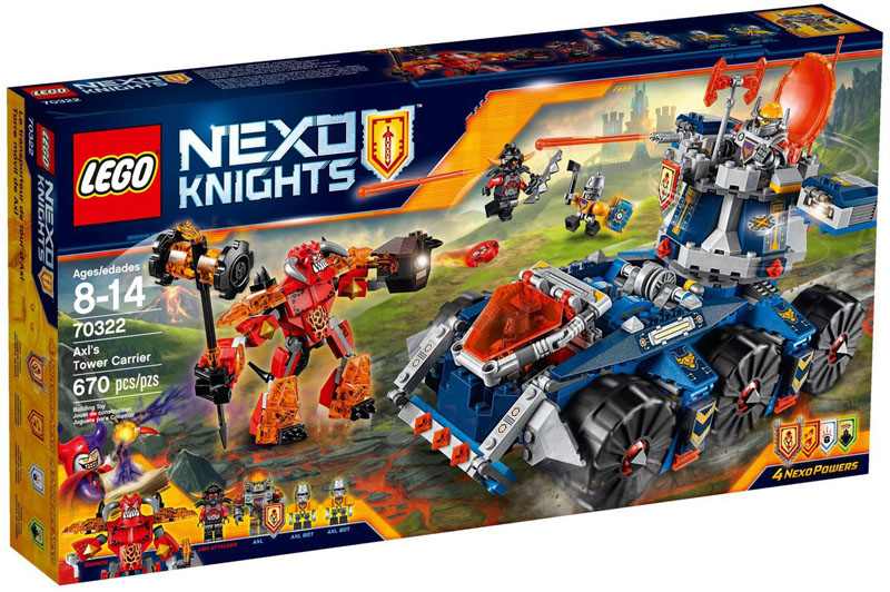 LEGO NEXO KNIGHTS 70322 Axls Tower Carrie