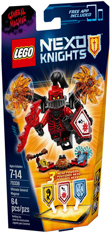 LEGO NEXO KNIGHTS 70338 Ultimate General Magmar