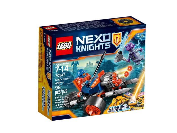 LEGO NEXO Knights 70347 Kings Guard Artillery
