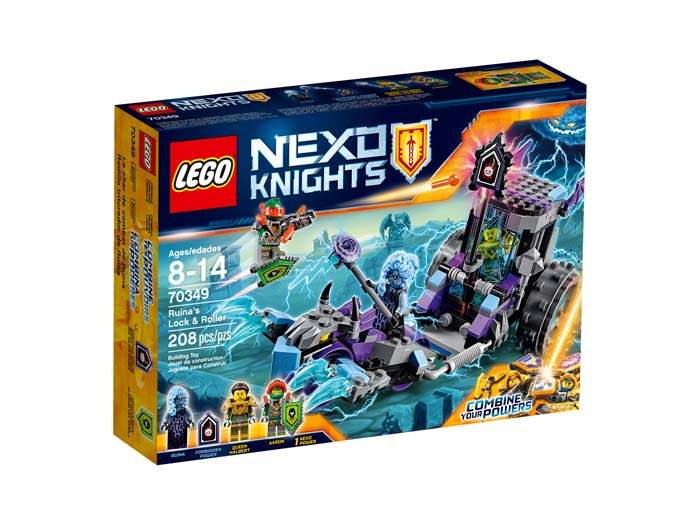 LEGO NEXO Knights 70349 Ruinas Lock and Roller