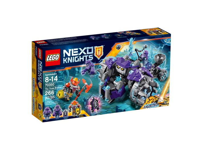 LEGO NEXO Knights 70350 The Three Brothers