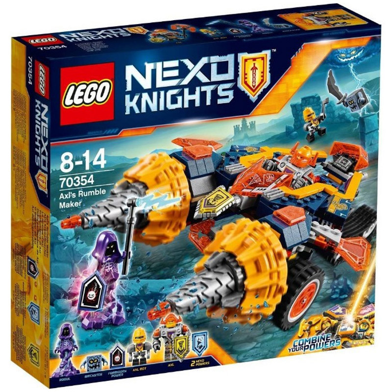 LEGO 70354 Nexo Knights Axls Rumble Maker