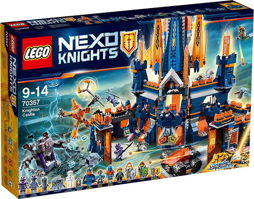 LEGO 70357 Nexo Knights Knighton Castle