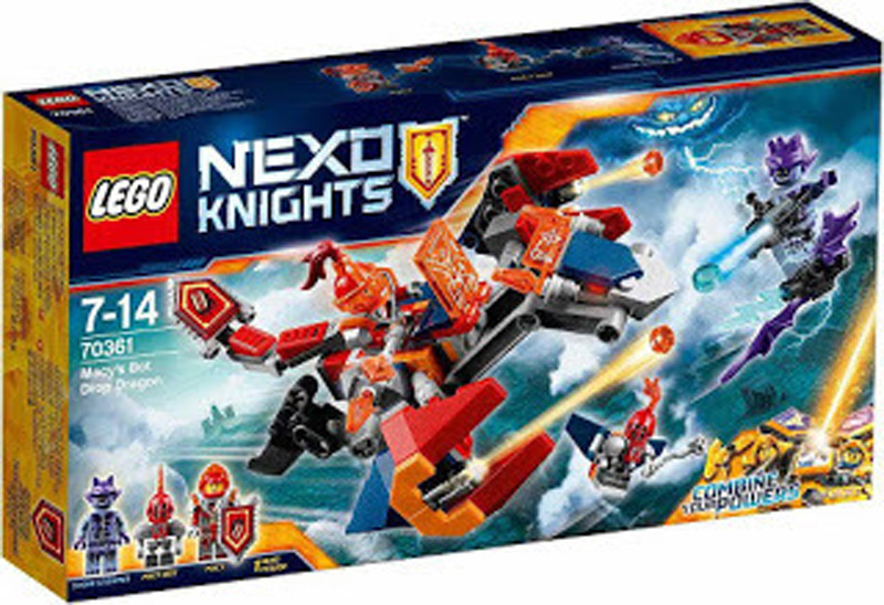 LEGO 70361 Nexo Knights Macys Bot Drop Dragon