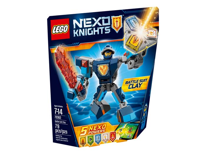 LEGO NEXO Knights 70362 Battle Suit Clay