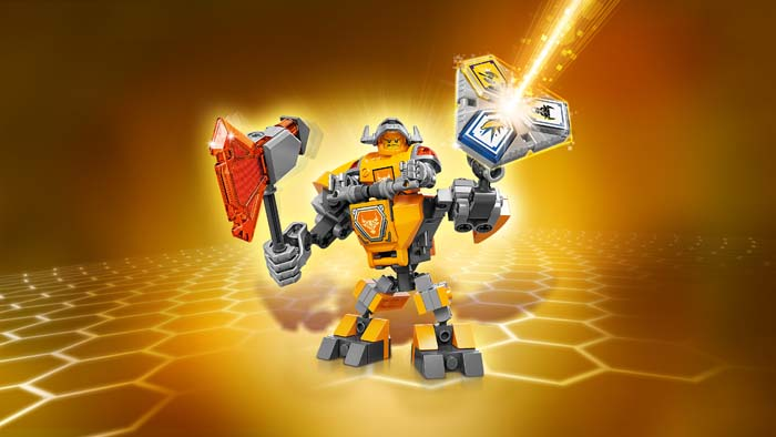 LEGO NEXO Knights 70365 Battle Suit Axl