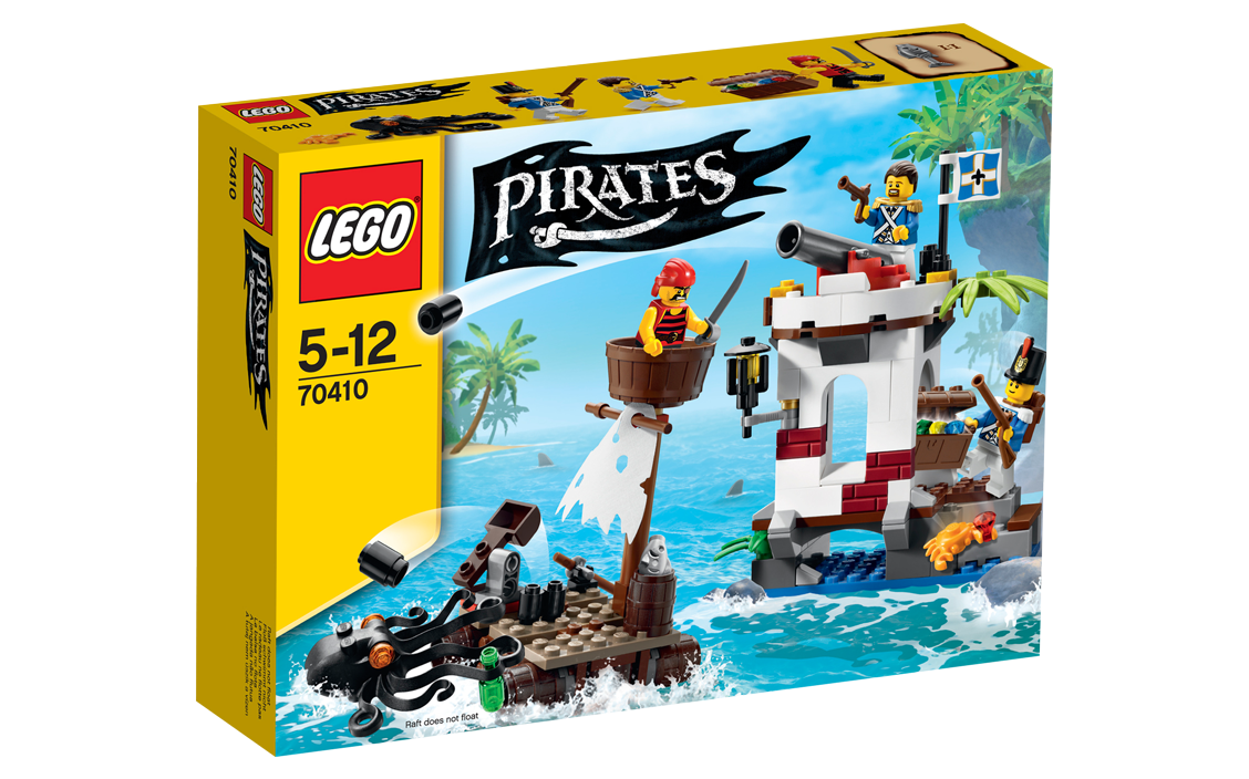 LEGO Pirates 70410 Soldiers Outpost