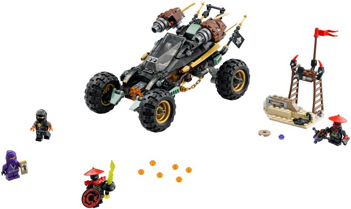 LEGO NINJAGO 70589 Rock Roader - Click Image to Close