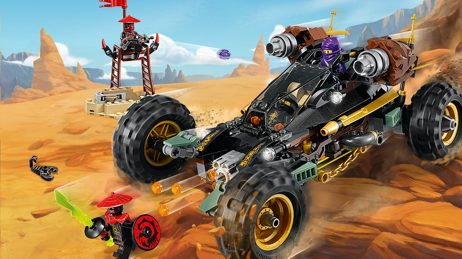 LEGO NINJAGO 70589 Rock Roader