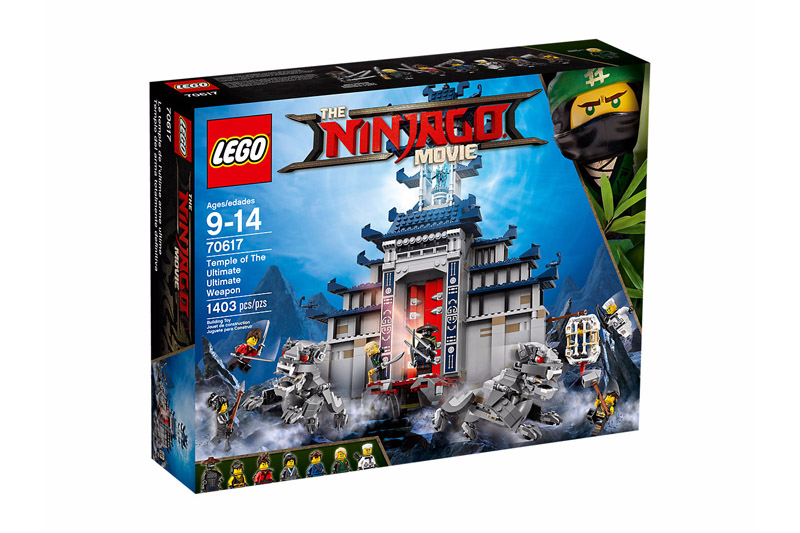 LEGO 70617 NINJAGO Temple of The Ultimate Ultimate Weapon