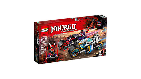 NINJAGO 70639 Street Race of Snake Jaguar