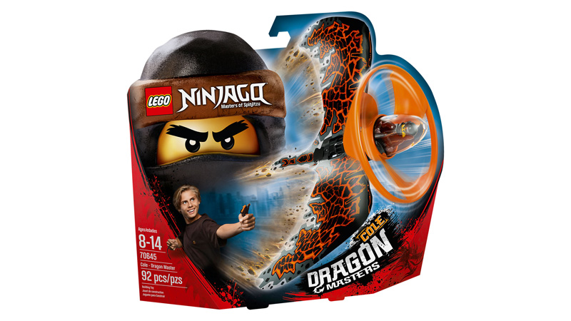 NINJAGO 70645 Cole Dragon Master