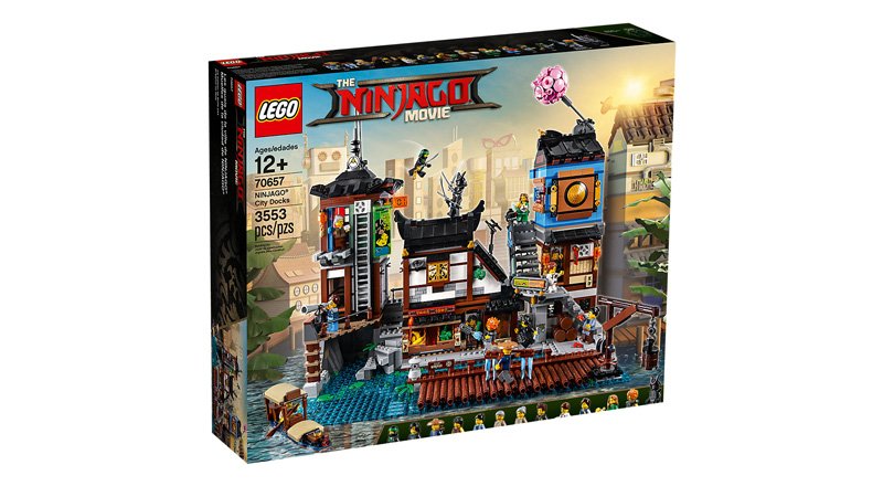 NINJAGO 70657 City Docks